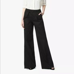 Joe's wide leg high waist black pants the Bessie